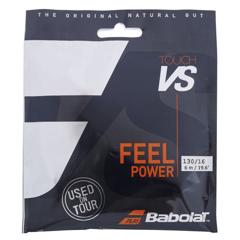 Babolat Touch VS 16 Tennis String Half Set (Natural) - RacquetGuys.ca
