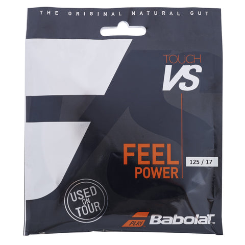 Babolat Touch VS 17 Tennis String (Natural) - RacquetGuys.ca