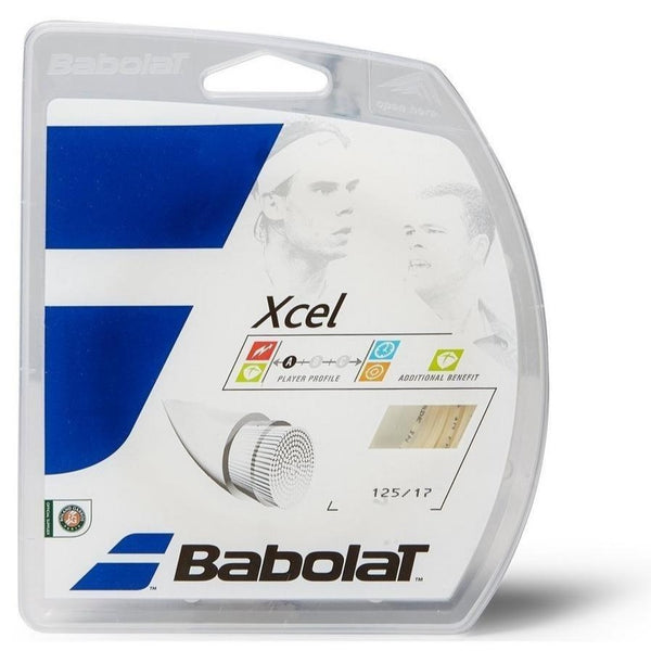 Babolat Xcel 17 Tennis String (Natural) - RacquetGuys