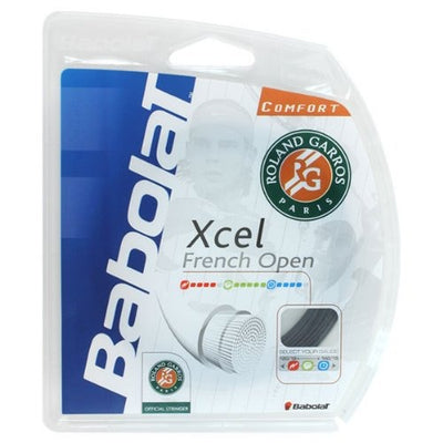 Babolat Xcel French Open 16 Tennis String (Black) - RacquetGuys