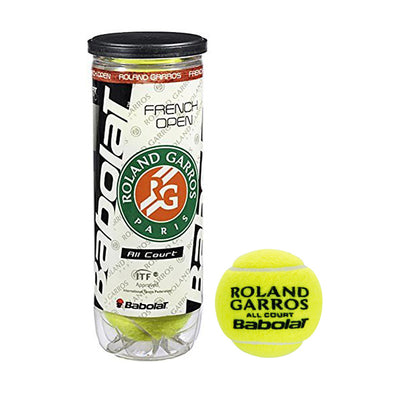 Babolat French Open All Court Tennis Balls - RacquetGuys