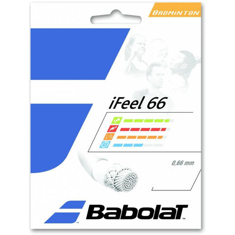 Babolat iFeel 66 Badminton String (Red)
