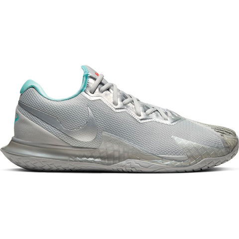 Nike Air Zoom Vapor Cage 4 Men's Tennis Shoe (Silver) - RacquetGuys