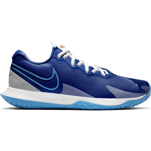 Nike Air Zoom Vapor Cage 4 Men's Tennis Shoe (Blue/White) - RacquetGuys