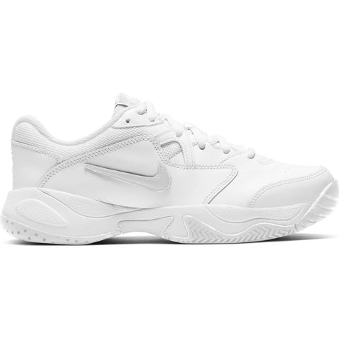Nike Court Lite 2 Junior Tennis Shoe (White) - RacquetGuys.ca