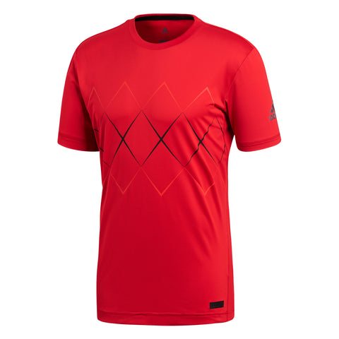 adidas Men's Barricade Top (Scarlet)