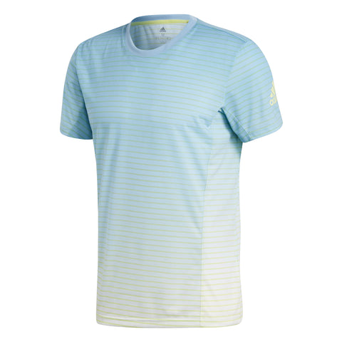 adidas Men's Melbourne Striped Top - RacquetGuys