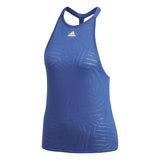 adidas Women's Melbourne Burnout Tank Top (Blue) - RacquetGuys.ca