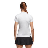 adidas Women's Club Polo (White) - RacquetGuys