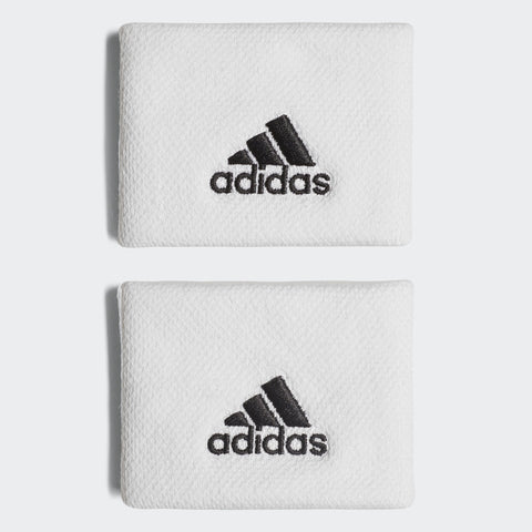 adidas Tennis Small Wristband (White)