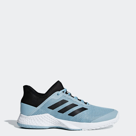 adidas Adizero Club Men's Tennis Shoe (Blue/Black) - RacquetGuys