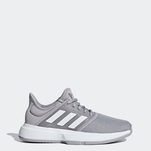 adidas GameCourt Women's Tennis Shoe (Granite/White) - RacquetGuys