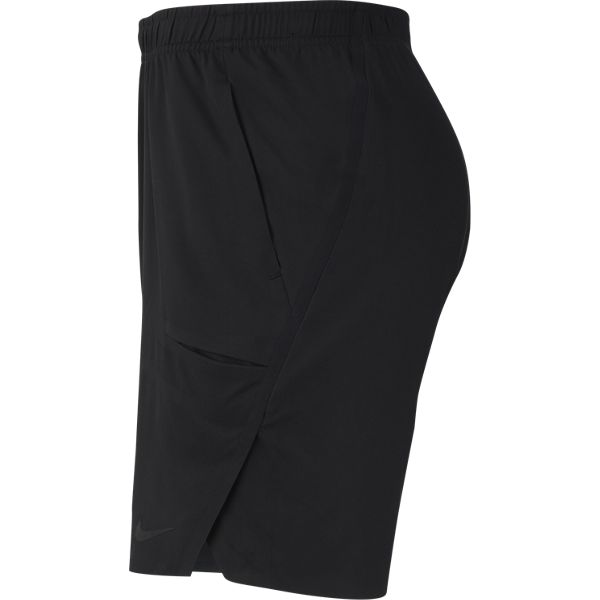 Nike Men's Flex Ace 9 Inch Shorts (Black) - RacquetGuys