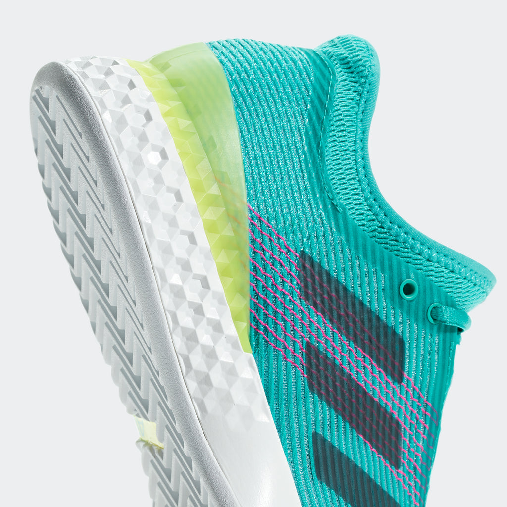wholesale dealer 64e7c 72481 adidas Adizero Ubersonic 3 Mens Tennis Shoe (AquaInkPink)