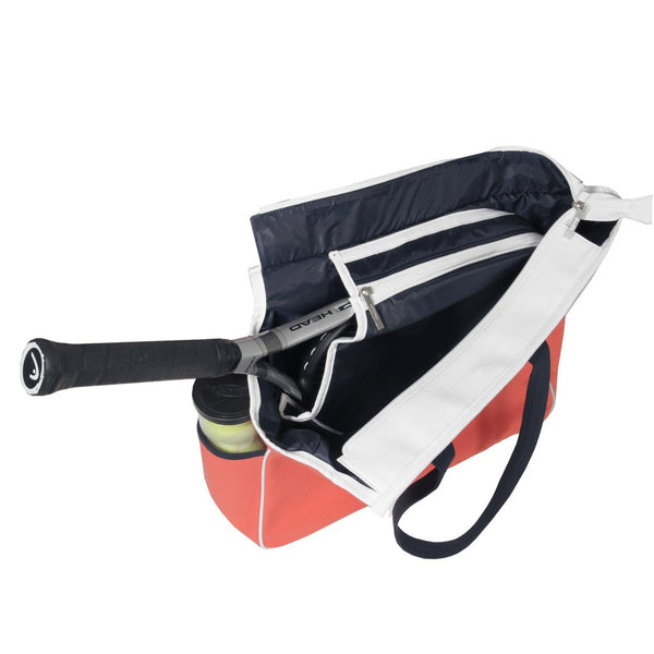 Ame & Lulu Kensington Crossed Court Racquet Bag - RacquetGuys