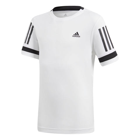 Adidas Boys 3 Stripes Club T-Shirt