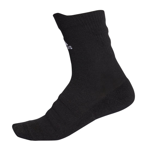 adidas Alphaskin Lightweight Cushioning Top Socks (Black)