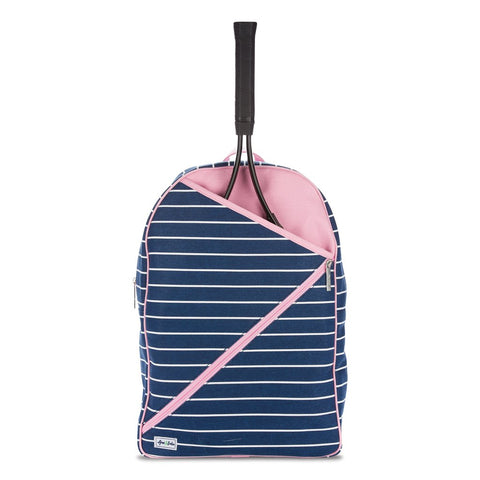 Ame & Lulu Cross Court Frankie Backpack Racquet Bag - RacquetGuys.ca