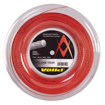 Volkl Cyclone Tour 17 Tennis String Reel (Red) - RacquetGuys.ca