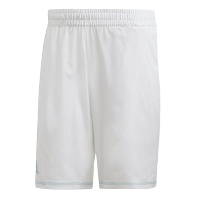 adidas Men's Parley 9 Inch Shorts (White)
