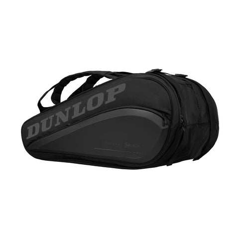 Dunlop CX Performance Thermo 15 Pack Racquet Bag (Black) - RacquetGuys