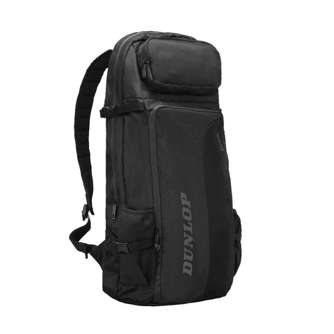 Dunlop CX Performance Commuter Backpack Racquet Bag (Black) - RacquetGuys