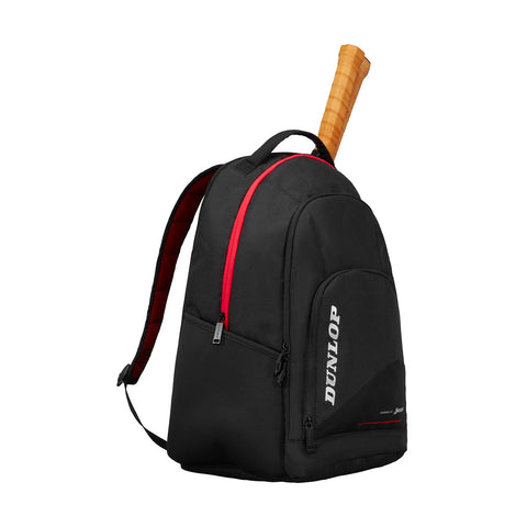 Dunlop CX Performance Backpack Racquet Bag (Black/Red) - RacquetGuys