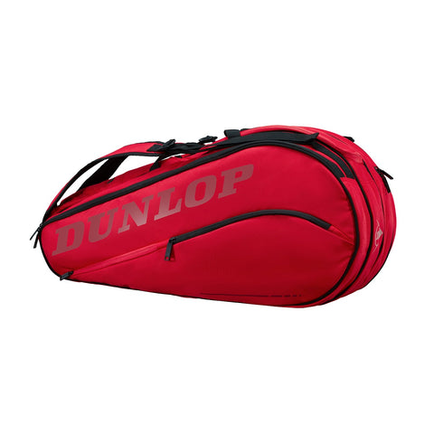 Dunlop CX Team Thermo 8 Pack Racquet Bag (Red) - RacquetGuys