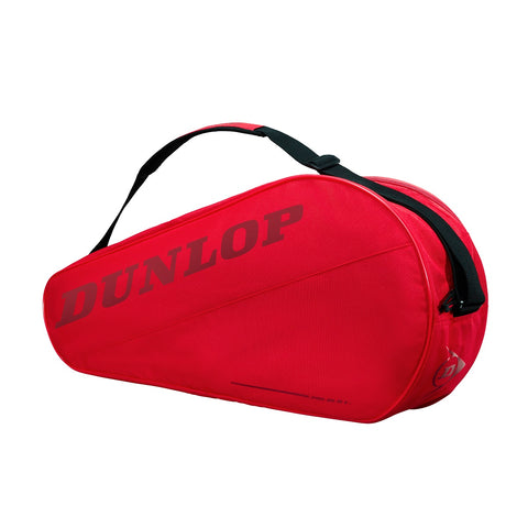 Dunlop CX Club 3 Pack Racquet Bag (Red) - RacquetGuys