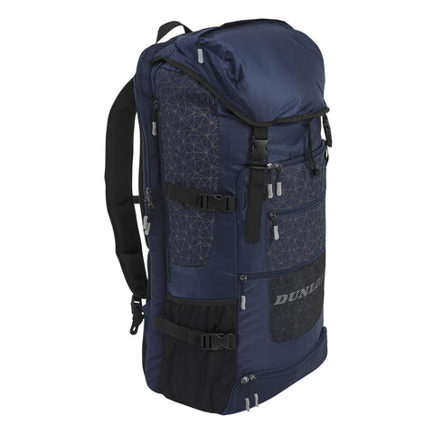Dunlop SX Casual Sport Long Backpack Racquet Bag (Navy/Grey) - RacquetGuys