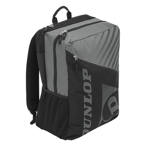 Dunlop SX Club Backpack Racquet Bag (Black/Grey) - RacquetGuys