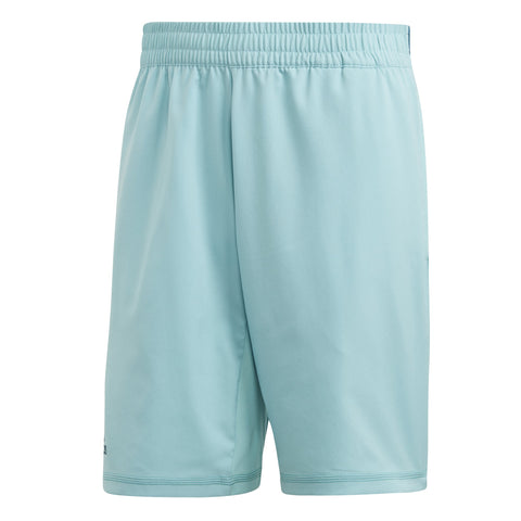adidas Men's Parley 9 Inch Shorts (Turquoise) - RacquetGuys