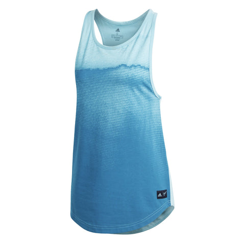adidas Women's Parley Tank Top (Turquoise) - RacquetGuys