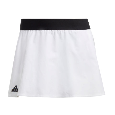 adidas Women's Escouade Skirt (White/Black) - RacquetGuys