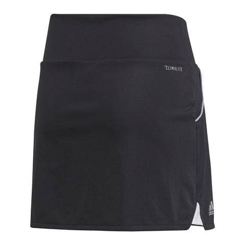 adidas Girl's Club Skirt (Black) - RacquetGuys