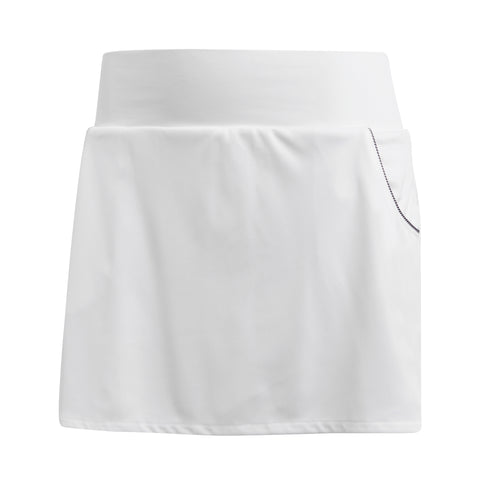 adidas Women's Club Skirt (White) - RacquetGuys