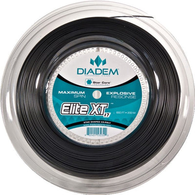 Diadem Elite XT 17 Tennis String Reel (Charcoal)