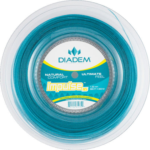 Diadem Impulse 16 Tennis String Reel (Teal) - RacquetGuys.ca