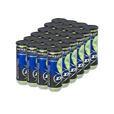 Dunlop Grand Prix Tennis Balls 24 Can Case - RacquetGuys