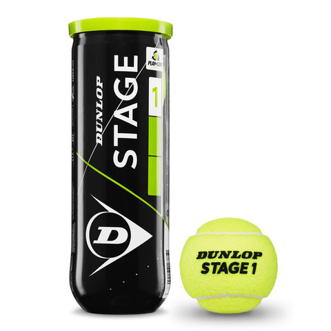 Dunlop Stage 1 Green Tennis Balls
