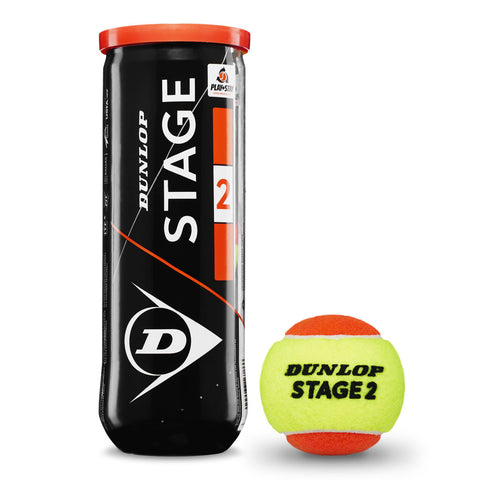 Dunlop Stage 2 Orange Tennis Balls