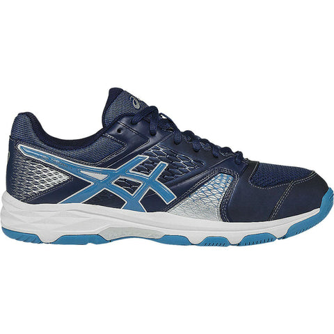 Asics Gel Domain 4 Mens Indoor Court Shoe (Blue/White) - RacquetGuys