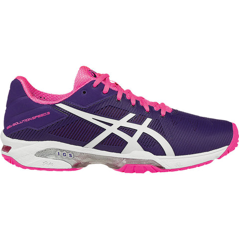 Asics Gel Solution Speed 3 Womens Tennis Shoe - RacquetGuys