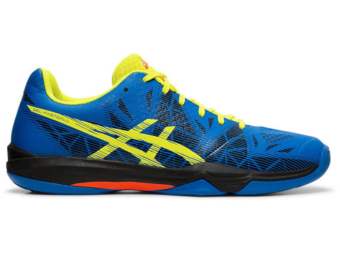 Asics Gel Fastball 3 Men's Indoor Court Shoe (Lake Drive/Sour Yuzu) - RacquetGuys