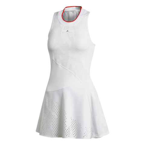 adidas Women's Stella McCartney Court Dress (White) - RacquetGuys