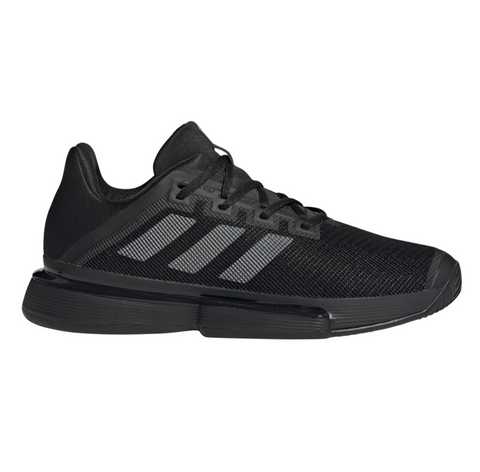 adidas SoleMatch Bounce Men's Tennis Shoe (Black) - RacquetGuys