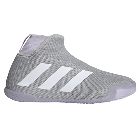 adidas Stycon Women's Tennis Shoe (Grey/White) - RacquetGuys