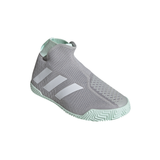 adidas Stycon Men's Tennis Shoe (Grey/White) - RacquetGuys