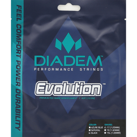 Diadem Evolution 16 Tennis String (Natural) - RacquetGuys