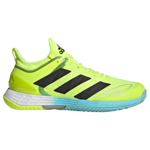 adidas Adizero Ubersonic 4 Tokyo Men's Tennis Shoe (Yellow/Black/Blue) - RacquetGuys.ca